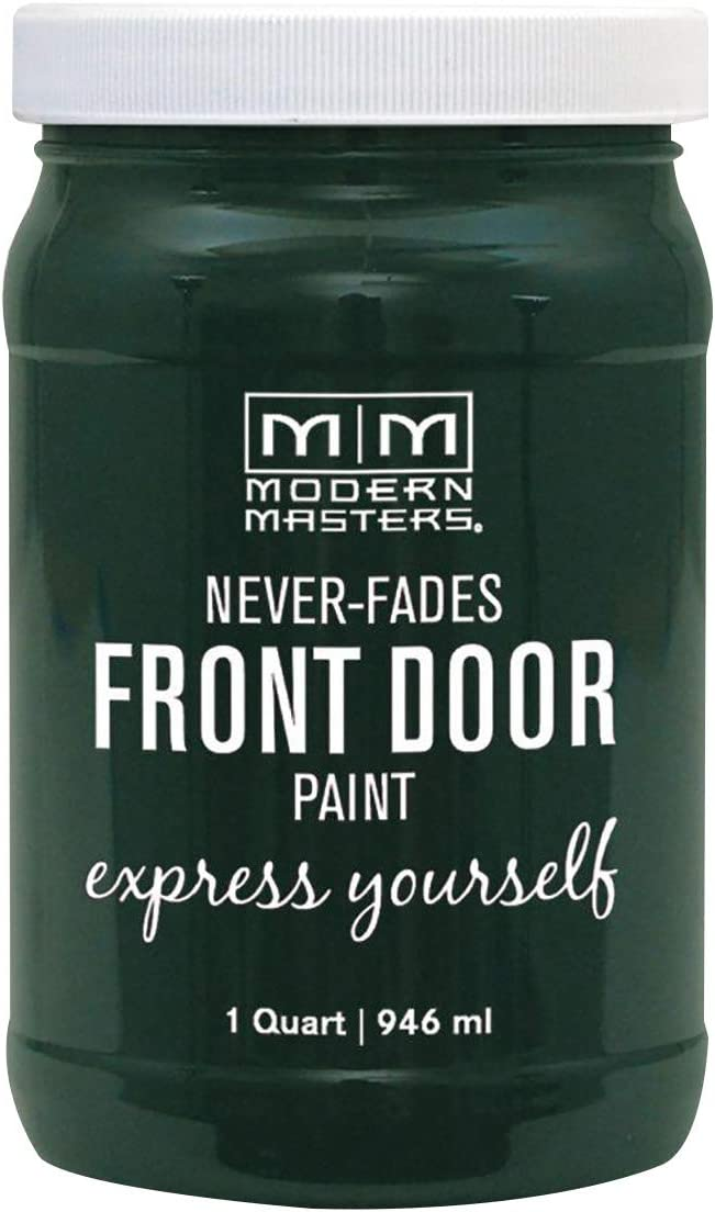 Modern Masters 275279 Front Door Paint, 1 Quart, Satin Successful