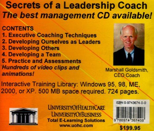 Secrets Of A Leadership Coach pdf