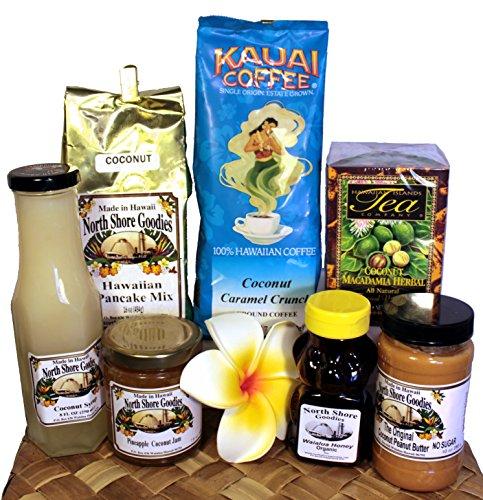 Hawaiian Gourmet Coconut Breakfast Collection (Hawaiian Gift Basket)