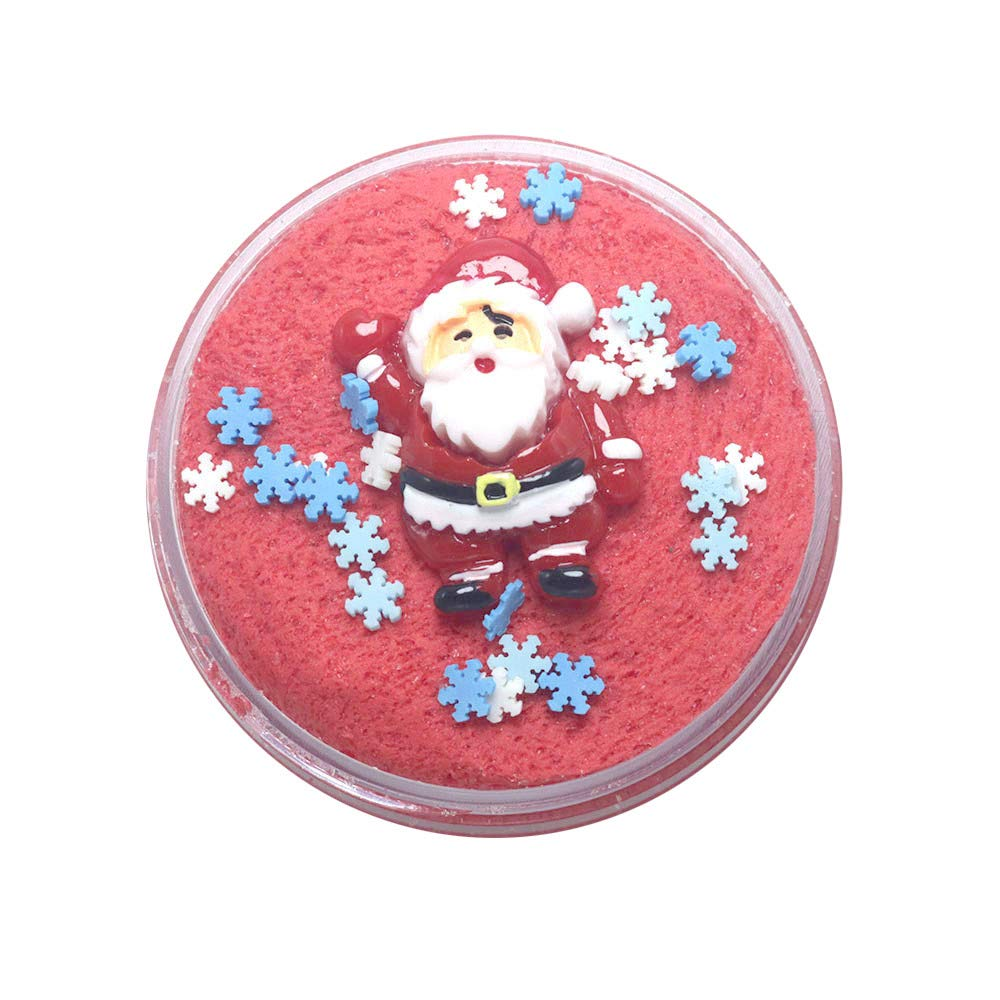 callm 100ML Christmas Slime Scented Charm Mud Stress Relief Kids Clay Toys Xmas