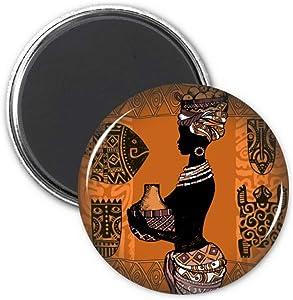 African Primitive Aboriginal Black Refrigerator Magnet Sticker Decoration Badge Gift