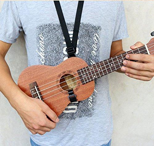 Concert Ukulele Mahogany 23 inch with Ukulele Accessories,Gig Bag,Strap,Nylon String,Electric Tuner,Picks - Image 8