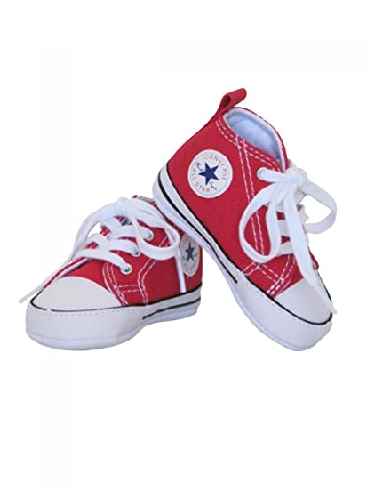f376c0f93d1fd Converse Canvas Shoes Baby Baby-Boy Red: Amazon.co.uk: Clothing