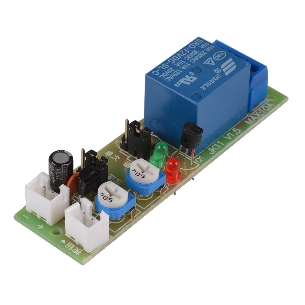 XCSOURCE DC 12V Infinite Loop Cycle Timing Timer Time Delay Relay ON OFF Module 1S-15Min TE678