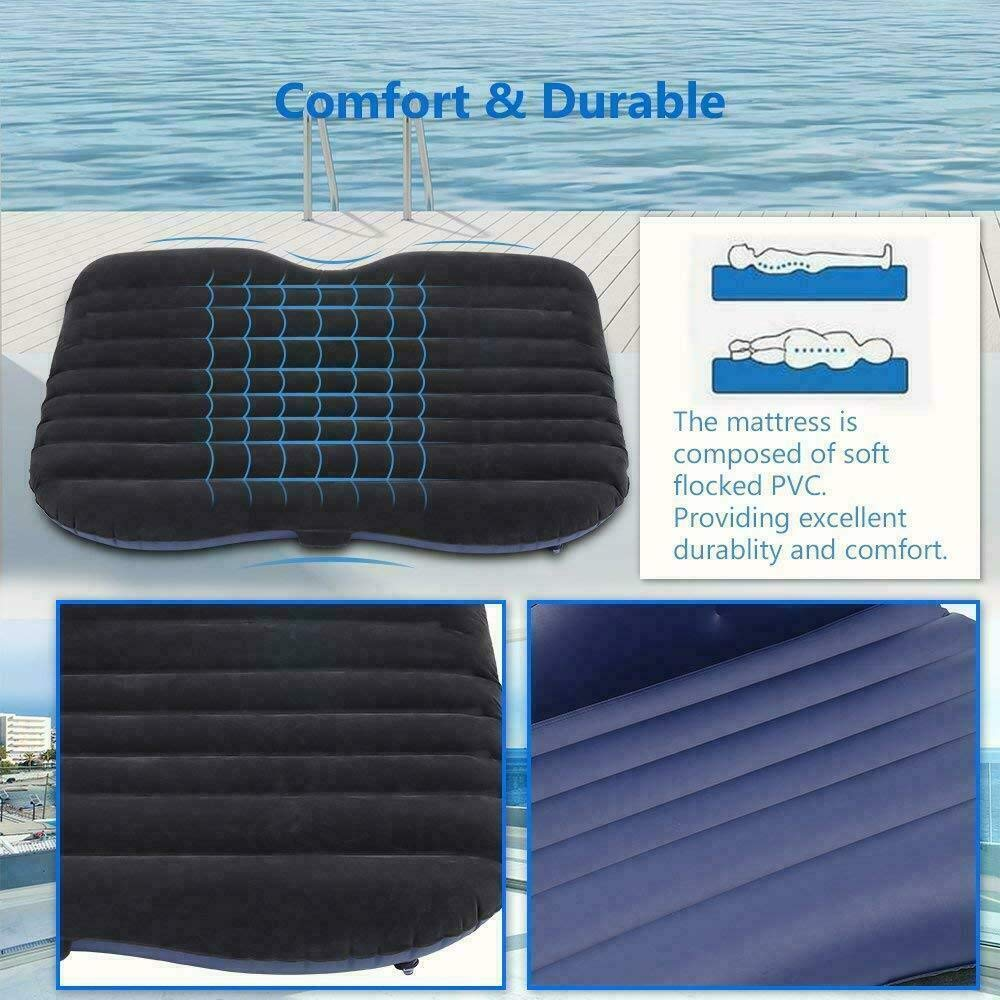 maxgoal 53'' Car Air Bed Inflatable Mattress Back Seat Cushion with Pillows for Travel MX G83584 by maxgoal (Image #6)