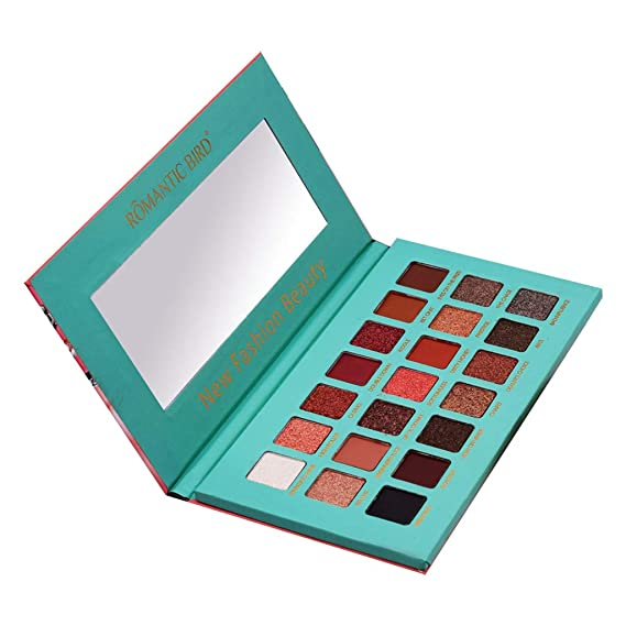 50154521ad29 Amazon.com: FLY-blue Makeup Eye Shadow Palette - Matte + Shimmer ...