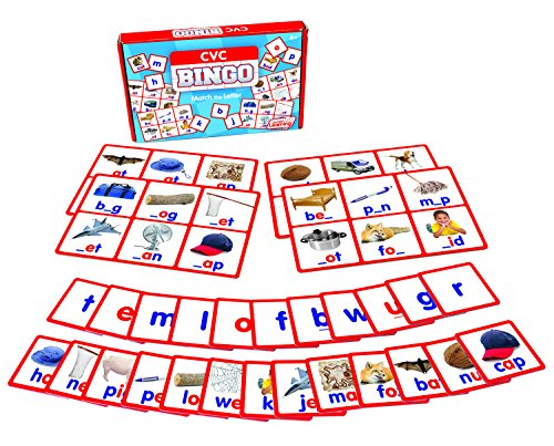 Junior Learning CVC Bingo Educational Action Games -