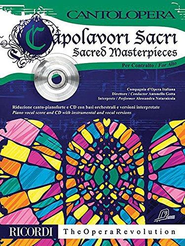 (Sacred Masterpieces for Alto: Cantolopera Series)