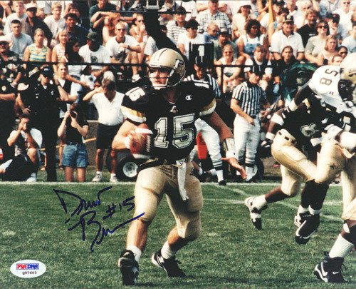 Drew Brees Signed 8x10 Photograph Purdue - Certified Genuine Autograph By PSA/DNA - Autographed Photo (Signed Brees Photograph)