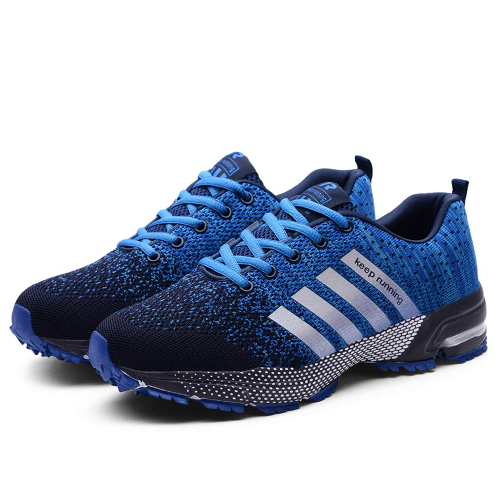 8d533359b55a4 KUBUA Mens Running Shoes Trail Fashion Sneakers Tennis Sports Casual  Walking Athletic Fitness Indoor and Outdoor Shoes for Women.