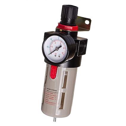 Unidad de mantenimiento de aire comprimido Reductor de presión para compresor Impacto