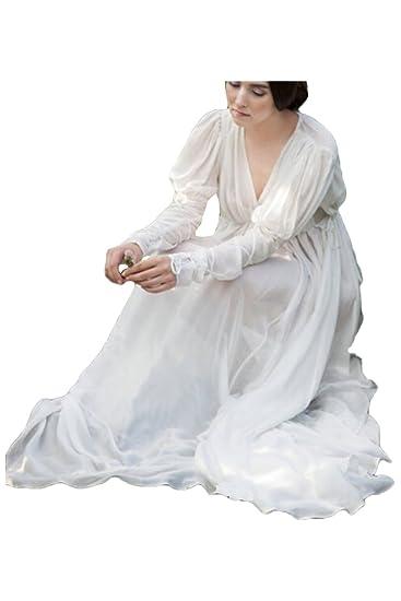 Amazoncom Fengstore Womens Medieval Renaissance Dress Long