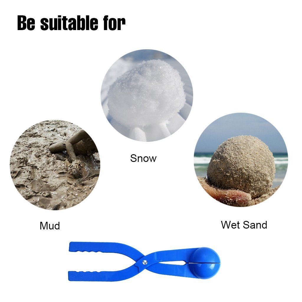 edealing Winter Snowball Maker Toy, Perfect Outdoor Play Snow Toys Kids Red & Blue - 2 Pack (Style 1) by edealing (Image #6)