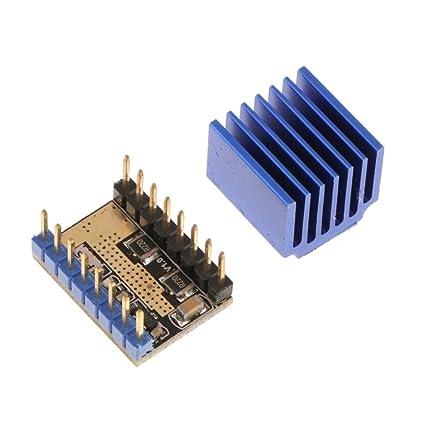 MonkeyJack LV8729 Stepper Motor 4-layer PCB Driver w/ Heatsink