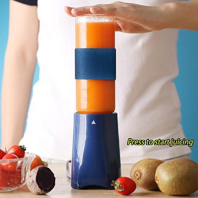 EOVL Mini Portátil Juicer Cup Exprimidor Licuadora Blender Mixer ...