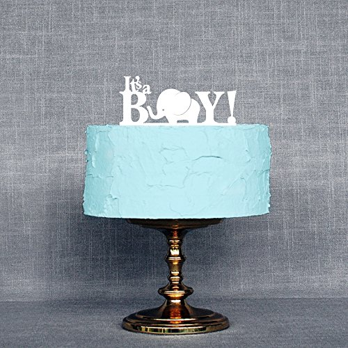 [USA-SALES] It's A Boy Baby Shower Cake Topper, Gender Reveal Party Decoration, by Usa-Sales Seller