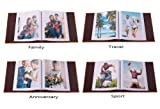 FaCraft 5x7 Photo Album with PU Leather Cover