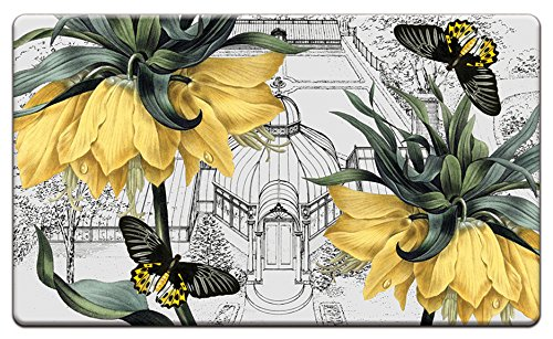 Cala Home 30 by 18-Inch Anti-Fatigue Comfort Floor Mat, New York Botanical Garden-Conservatory