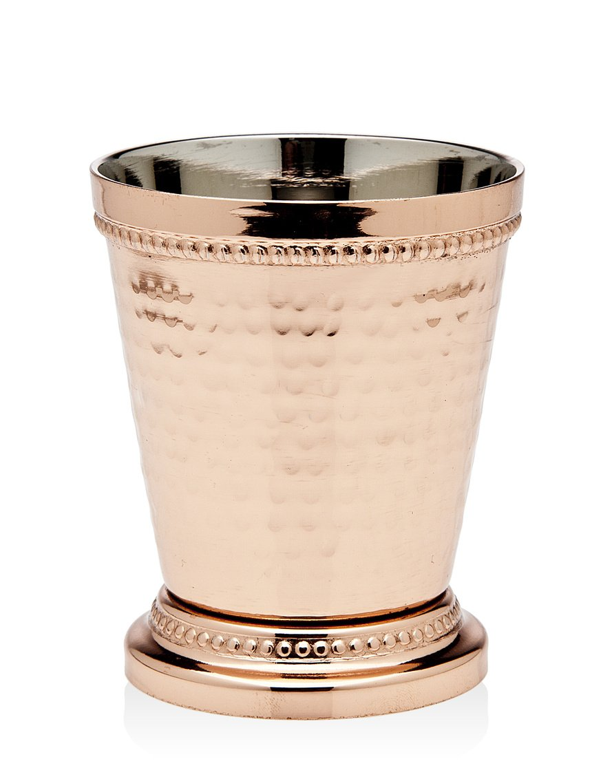 Godinger Beaded Mint Julep Cup, 3.25'', Copper by Godinger