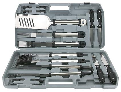 Mr. Bar-BQ 02099Y 18-Piece Stainless Steel Tool Set