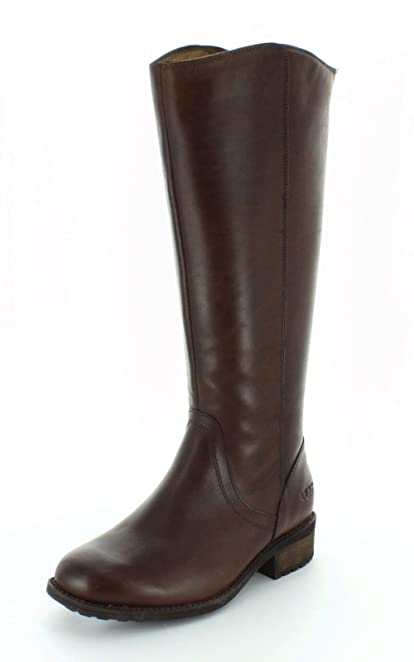 UGG Australia Womens Seldon Dark Chestnut Winter Boot - 9.5