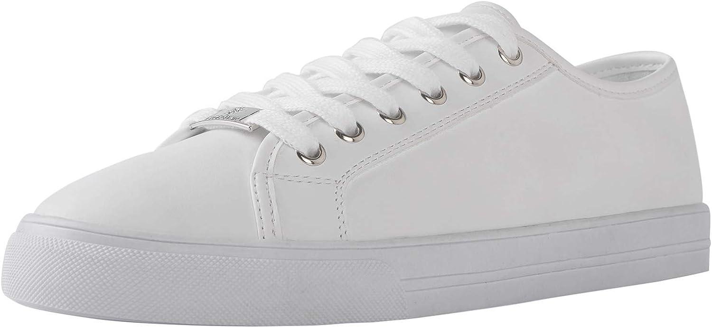GLOBALWIN Women's Fashion Sneakers Low Top Casual Walking Shoes 2007white