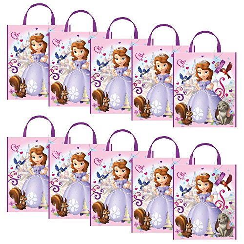[Sofia The First Party Tote Bag (Set of 10)] (Costume Party Ideas)