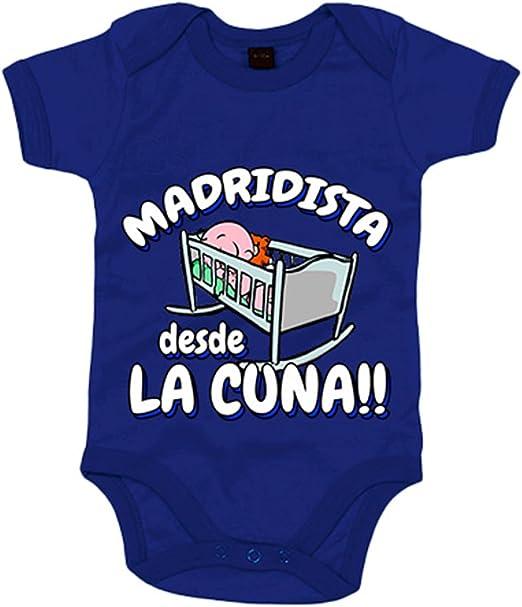 9 Meses Tallas beb/é 10XDIEZ Body Bebe Real Madrid 813 BCO-Ocre