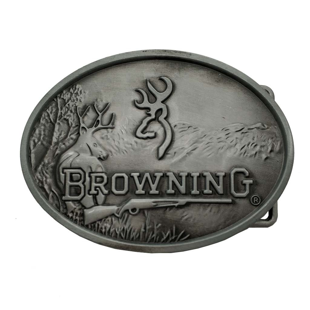 Deer Browning Hunting Belt Buckle 1-ONE