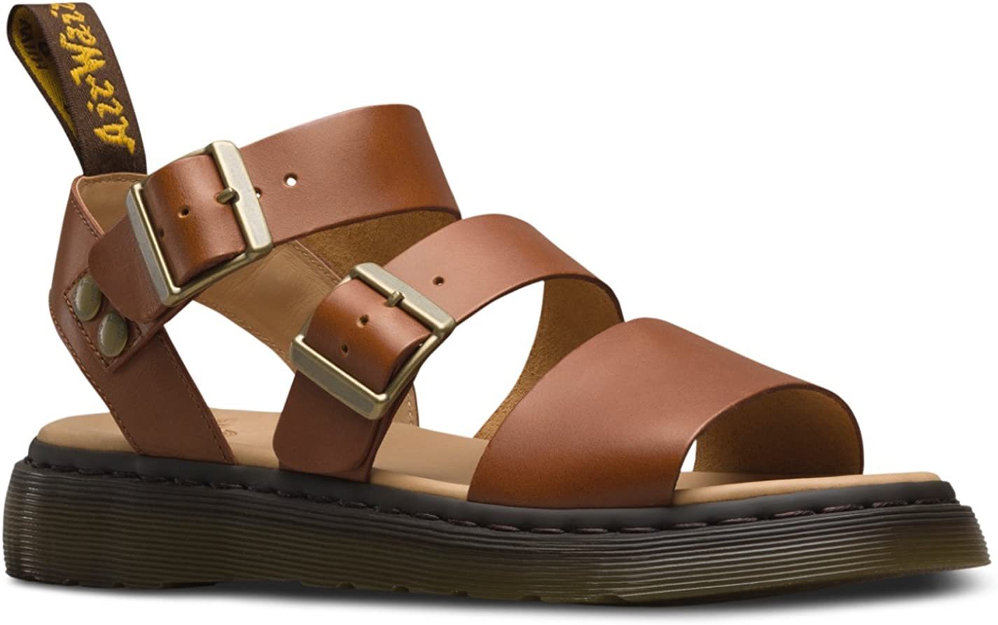Dr Martens Mens Gryphon Strap Fashion Sandals 11 M Oak Analine 12 M US
