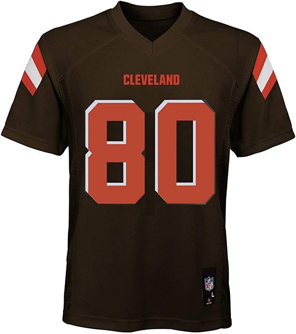 Jarvis Landry Cleveland Browns NFL Youth 8-20 Brown Home Mid-Tier Jersey