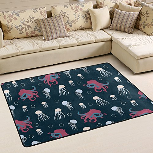 jelly fish area rug - 4