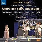 Amore non soffre opposizioni, Opéra en deux actes