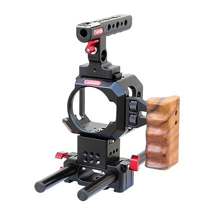 Camtree Hunt Micro jaula (bmmcc, bmmsc) para cámaras Blackmagic ...