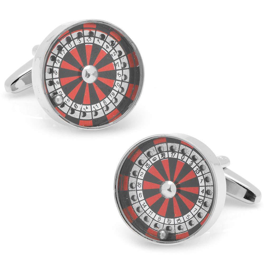 Mens Roulette Wheel Cufflinks Cufflinks Inc