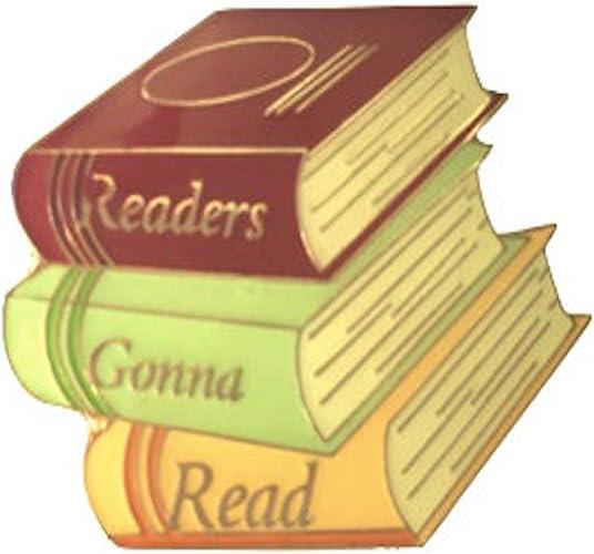 A Reader Lives A Thousand Lives Enamel Pin Badge Brooch Lapel Pin Bookish