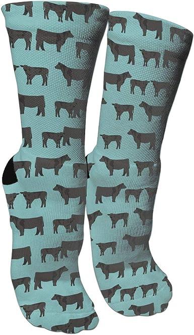 FUNINDIY Personalized Kangaroo and Baby Athletic Tube Socks Women Men High Socks Crazy Socks
