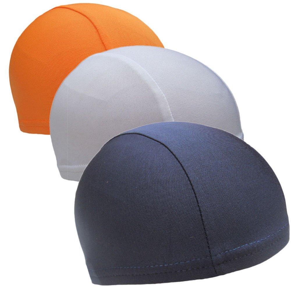 CHRISLZ 3 Pcs Helmet Liner Speed Dry Skull Cap Under Helmet Cycling Headgear Bicycle Fleece Hat Sports Breathable Beanie