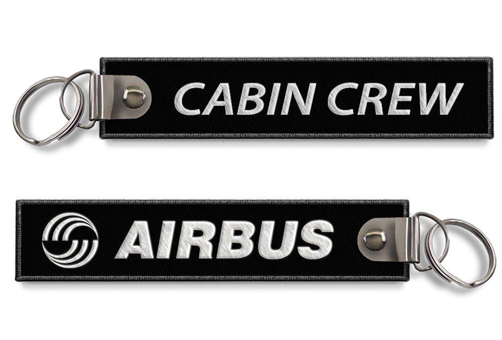 Airbus Tripulación Llavero negro: Amazon.es: Equipaje