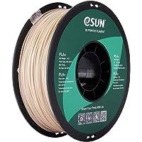 eSUN 1.75mm Bone White PLA PRO (PLA+) 3D Printer Filament 1KG Spool (2.2lbs), Bone White (Pantone 7507C)