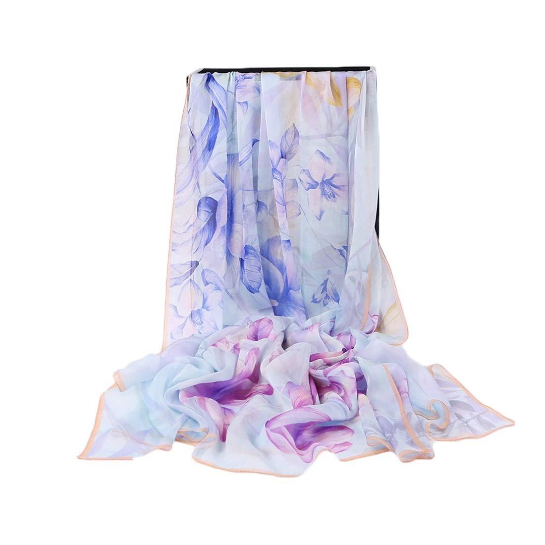 2 YUKILO Women's Scarves Comfortable Travel Beach Towel Light Scarf for Women (color   3, Size   195x106CM)