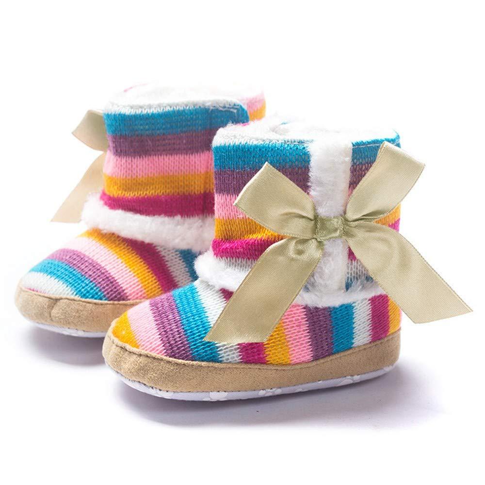 12~18 Month, Coffee LOMONER Toddler Kids Girls Boys Cute Cartoon Animal Soft Warm Plush Lining Non-Slip Slippers Winter House Shoes
