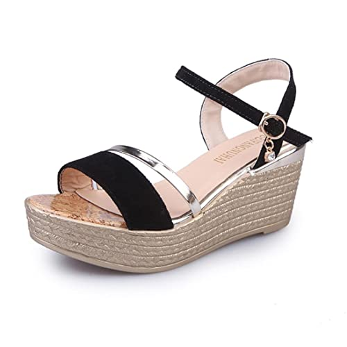 9a121af4e48 Amazon.com  Women Summer Open Toe Strappy Sandals