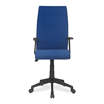 53c1d4997 Nilkamal Thames High-Back Office Chair (Blue)  Amazon.in  Home   Kitchen