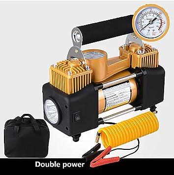 Q&F Compresor bomba 12vcar bomba de inflado de neumático de aire 12v Dc Compresor de aire