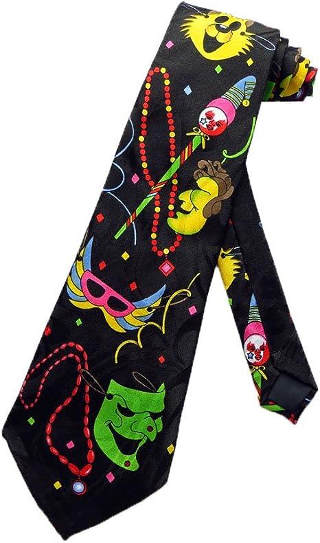 Steven Harris Hombres Carnaval Martes corbata – Negro – Talla ...