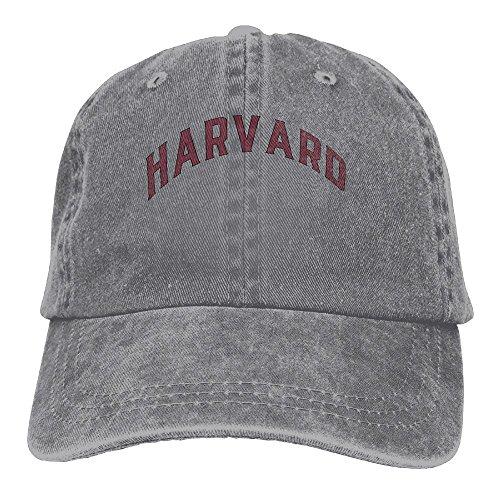 3cefeb8c68e Katie P. Hunt Harvard University Adult Hats Unisex Fashion Plain Cool  Adjustable Denim Jeans Baseball