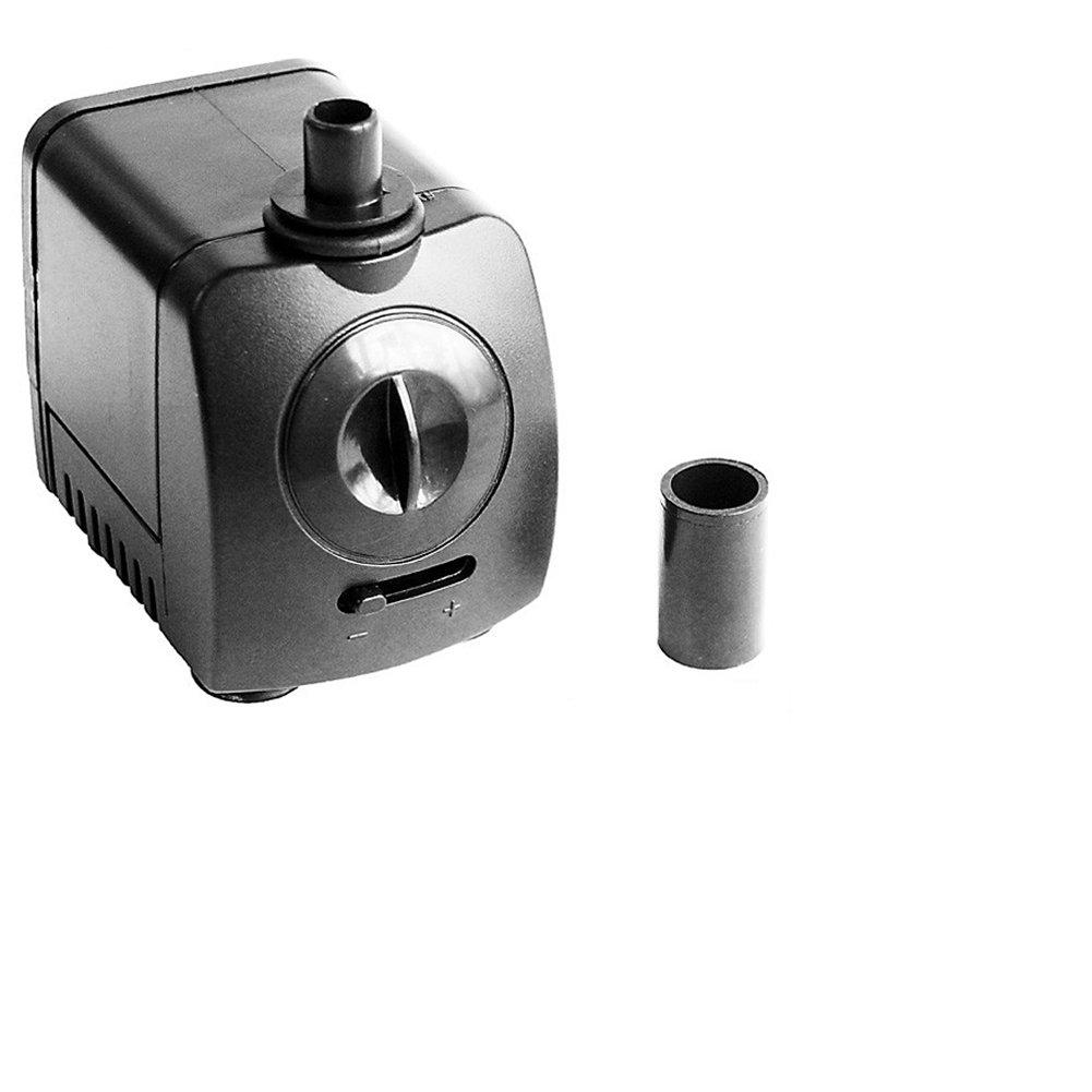CHENGAIEU Mini Bomba de Agua Sumergible Bomba de Acuario 9.5W AC 220V 600L/H Max. 1, 2m de Altura