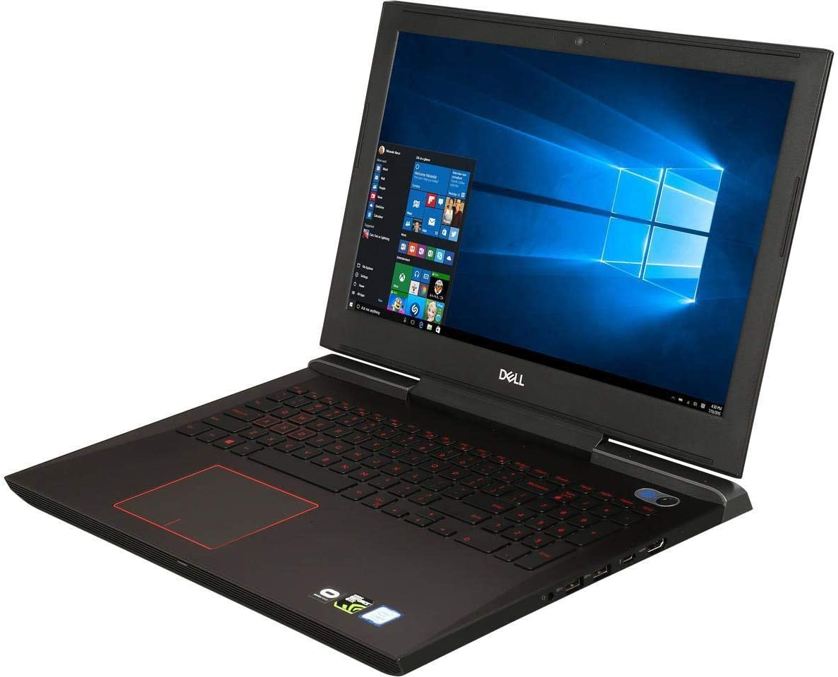 "DELL Inspiron 15.6"" FHD IPS VR Ready High Performance Gaming Laptop, Intel Quad Core i5-7300HQ Up to 3.5GHz, 8GB Memory, 128GB SSD, NVIDIA GeForce GTX 1060, Backlit Keyboard, Windows 10"
