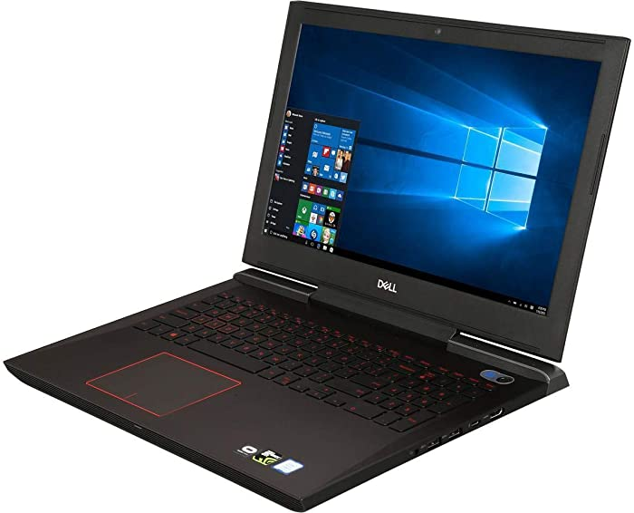"DELL Inspiron 15.6"" FHD IPS VR Ready High Performance Gaming Laptop, Intel Quad Core i5-7300HQ Up to 3.5GHz, 16GB Memory, 2TB HDD, NVIDIA GeForce GTX 1060, Backlit Keyboard, Windows 10"